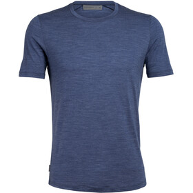 Icebreaker Sphere SS Crew Top Men estate blue heather